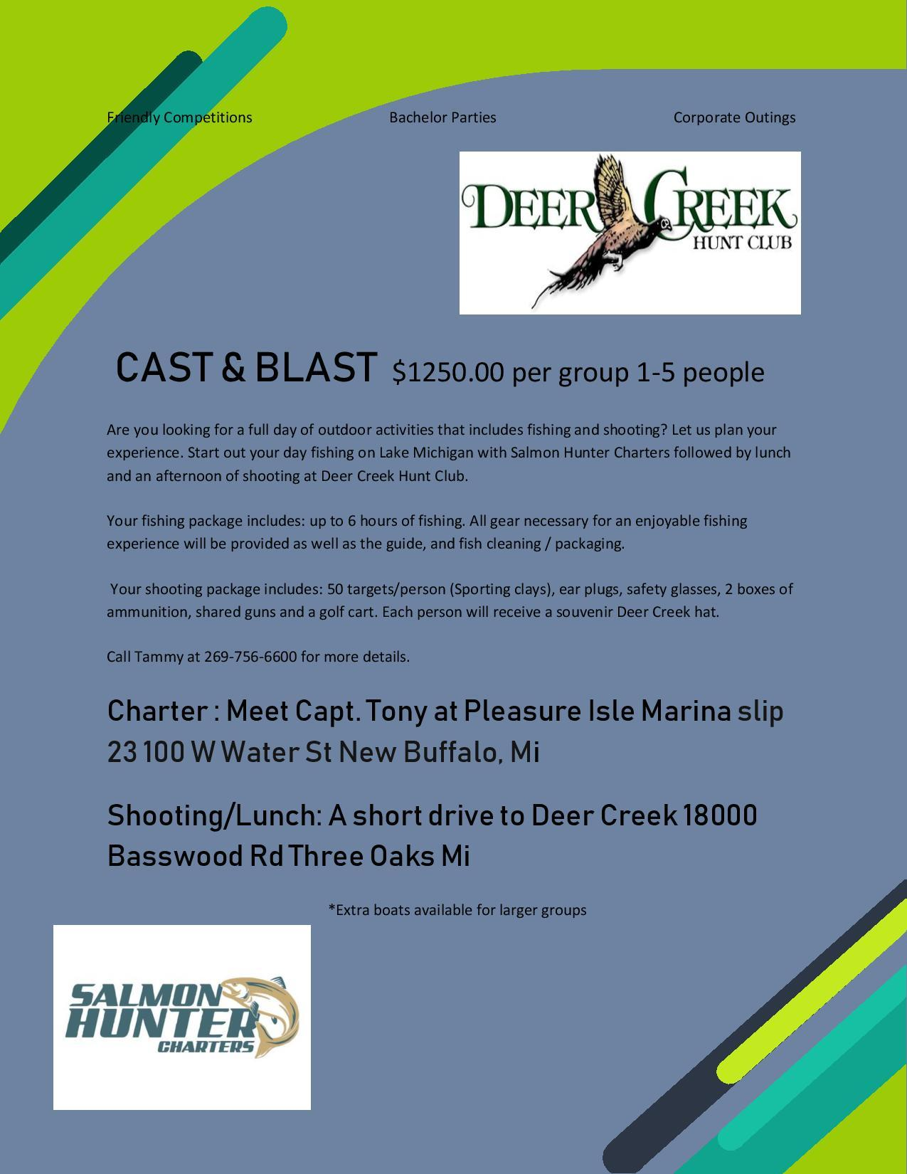 Cast And Blast Final