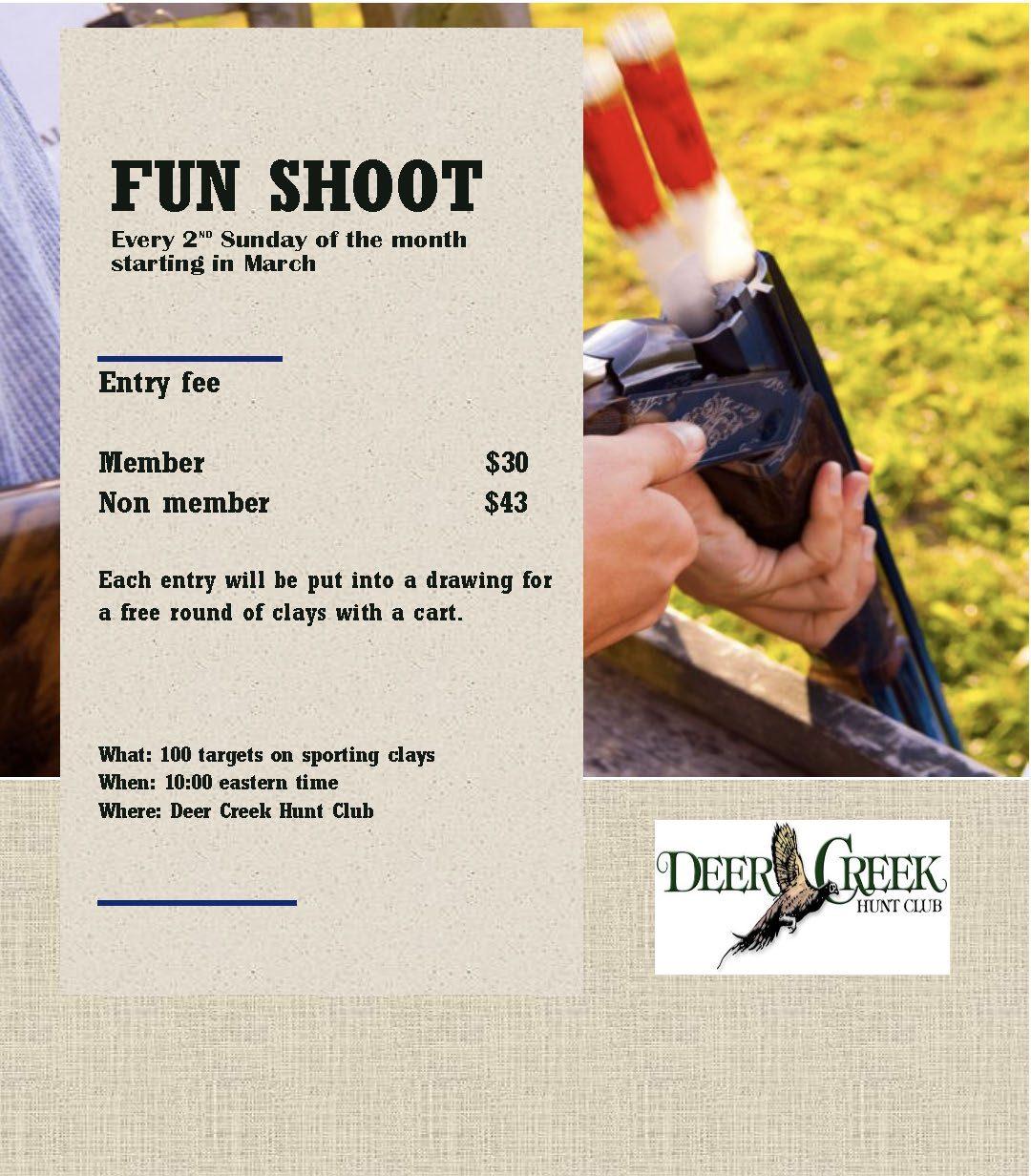 Fun Shoot Deer Creek