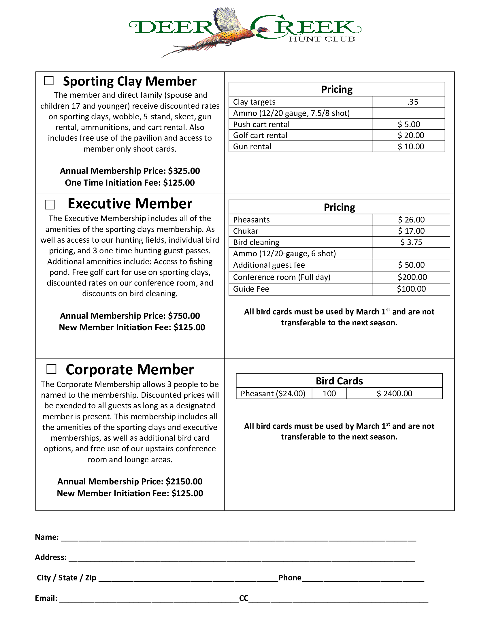 Membership Packages revised jpg