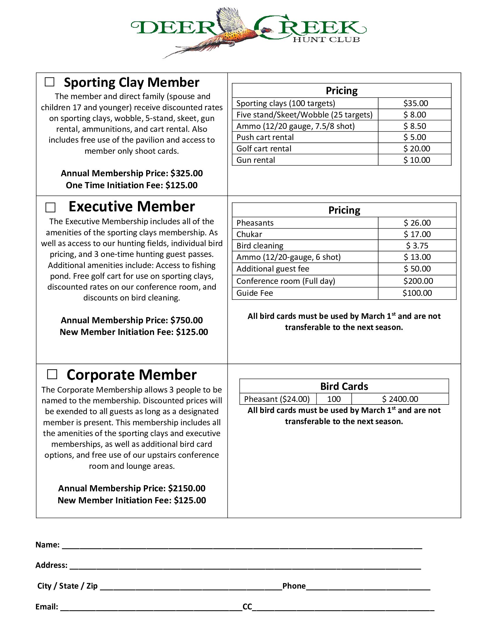 Membership Packagesjpg