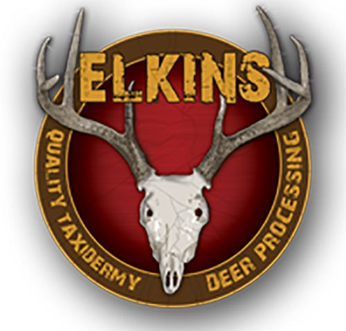 Elkins Taxidermy Logo