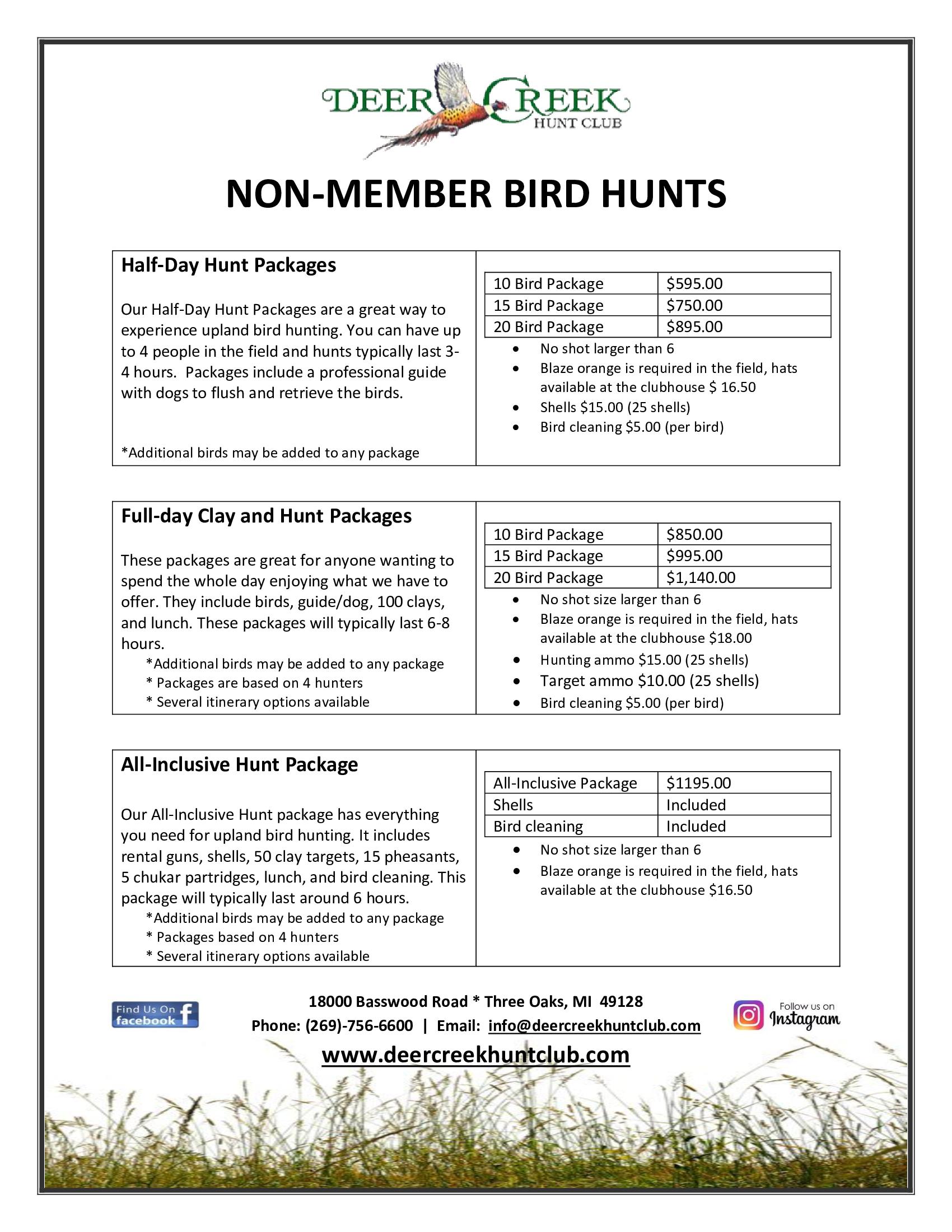 Non Member Bird Hunts jpg