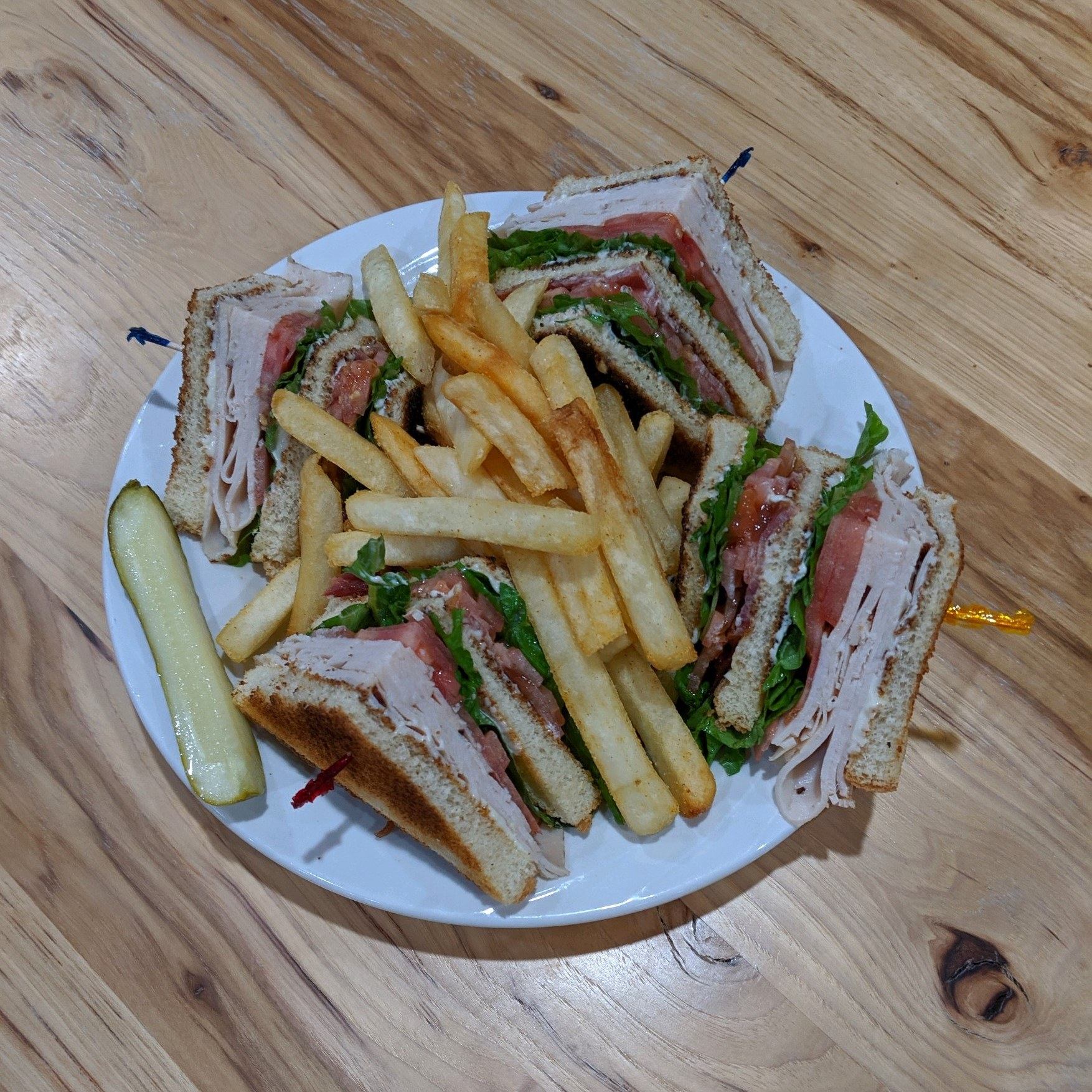 Sqaure Turkey Club